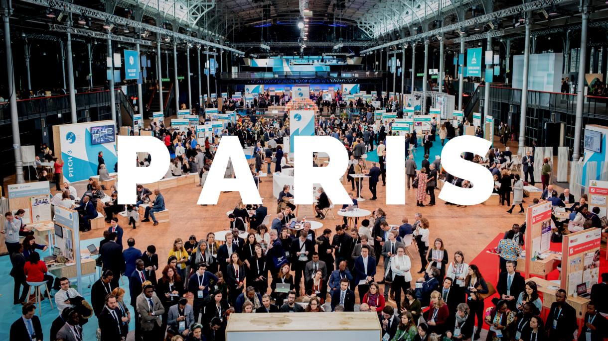 Braindate Lounge in Paris Peace Forum 2019