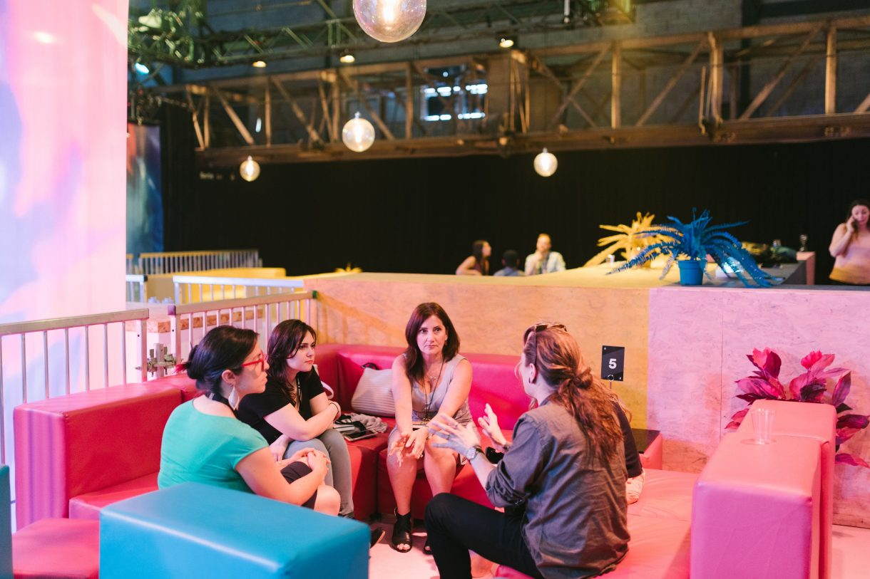 Group braindate at C2 Montreal 2018
