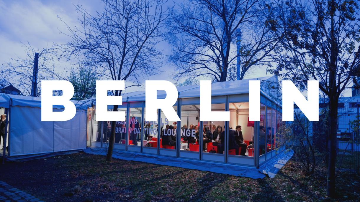 Braindate Lounge at Falling Walls Berlin