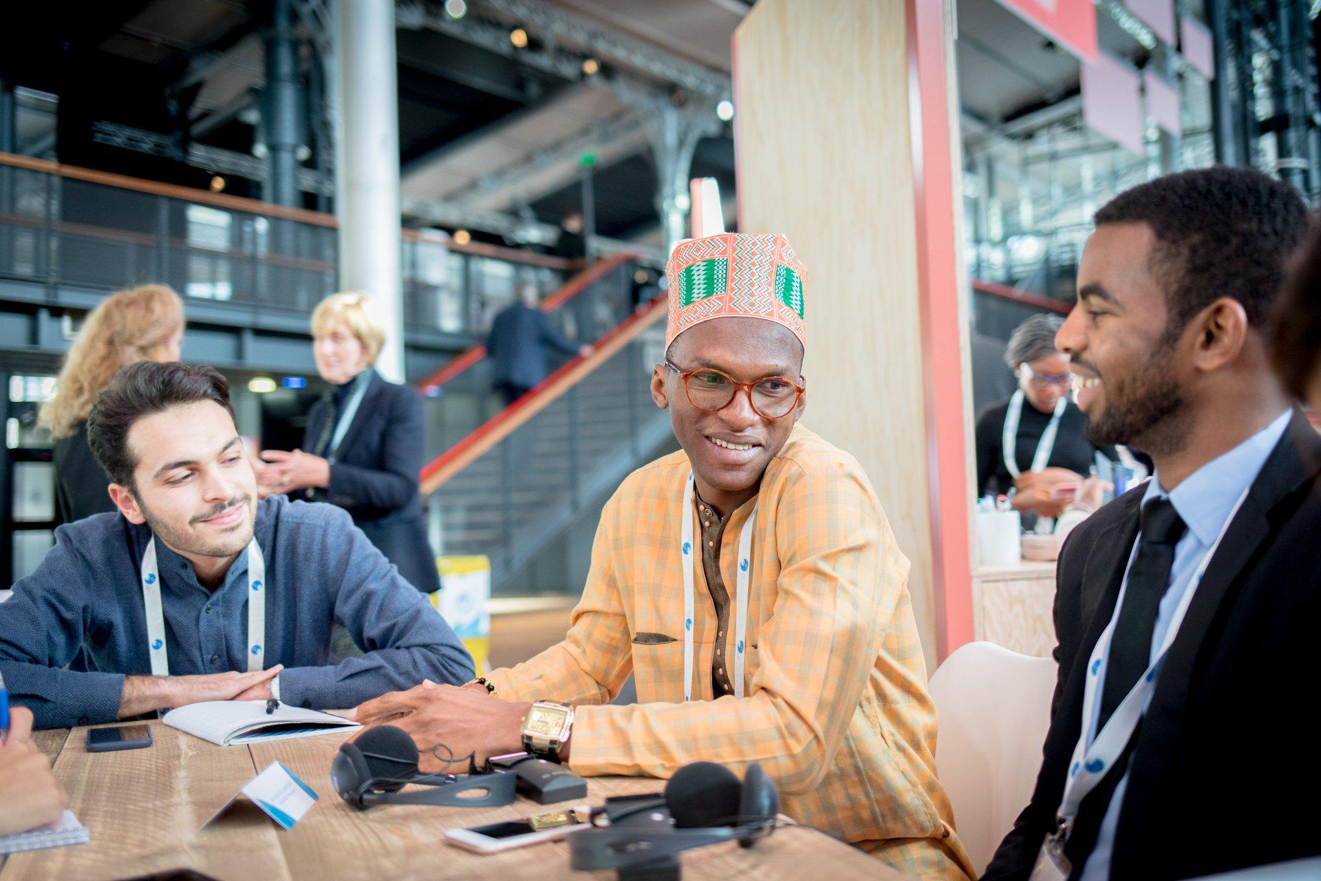 Group braindate at the Paris Peace Forum