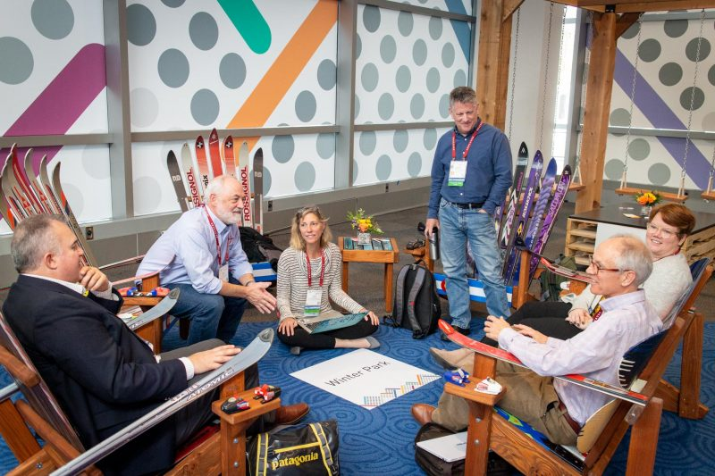 Collaborative learning at Educause Conference