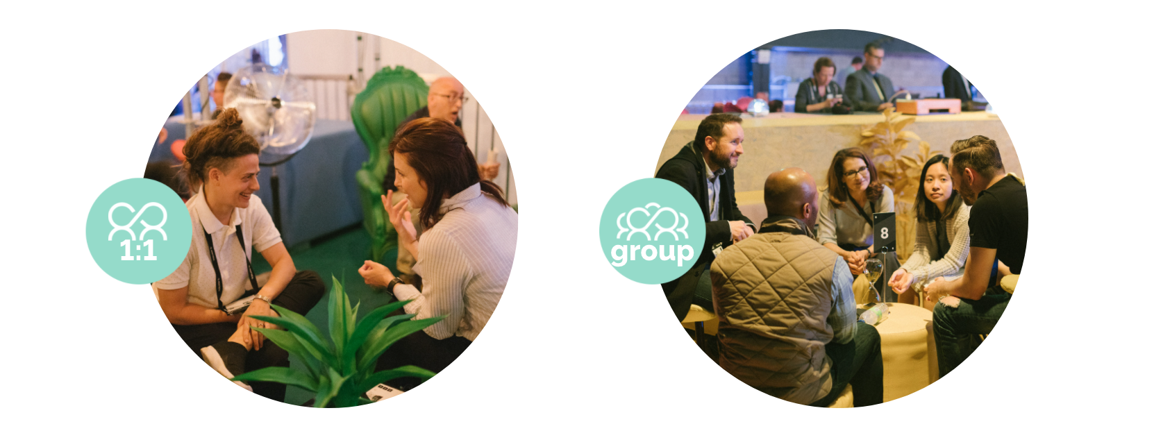 use our technology for hybrid events to help participants connect one or one or in a group